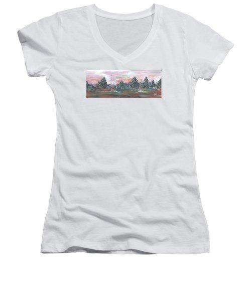Birch Grove Women's V-Neck T-Shirt