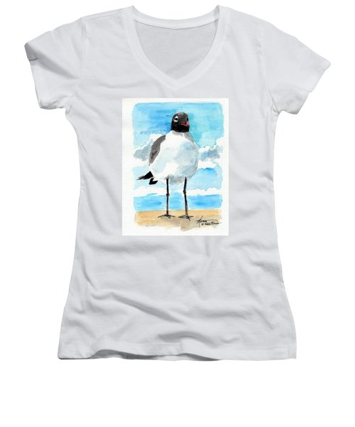 Bird Legs Women's V-Neck