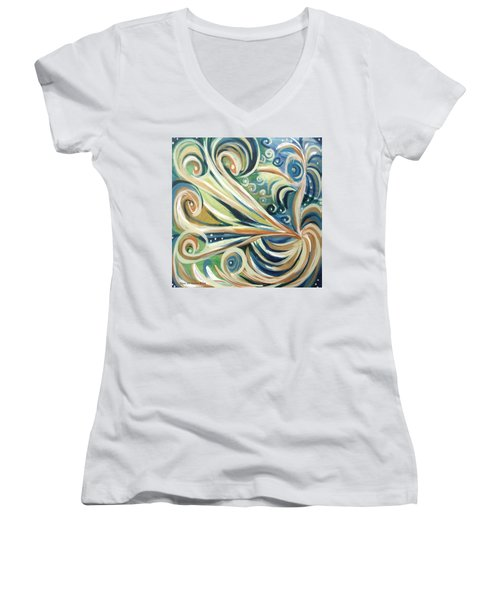 Bird Of Paradise 5 Women's V-Neck