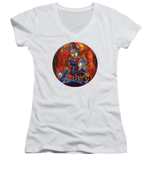 Blessing Shiva Women's V-Neck