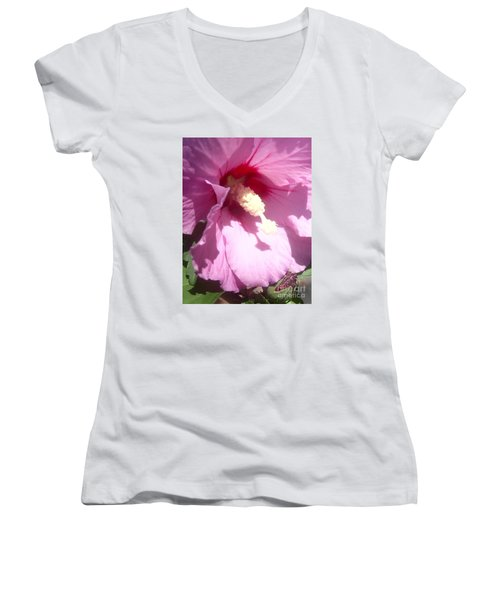 Blossom At Kirby Park Women's V-Neck (Athletic Fit)