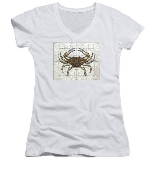 Blue Crab Women's V-Neck