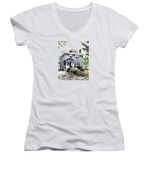Blue House Women's V-Neck