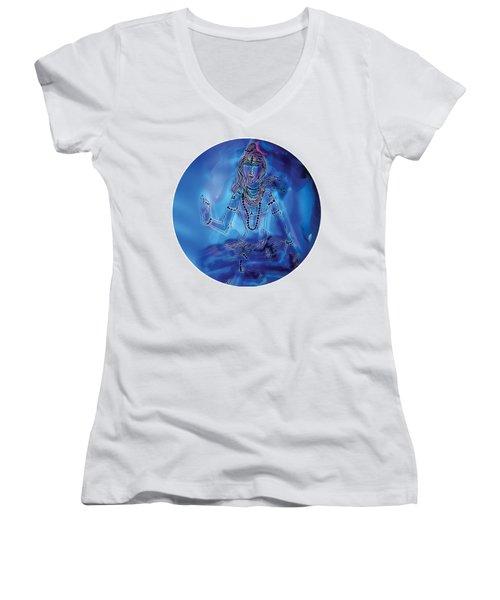 Blue Shiva  Women's V-Neck