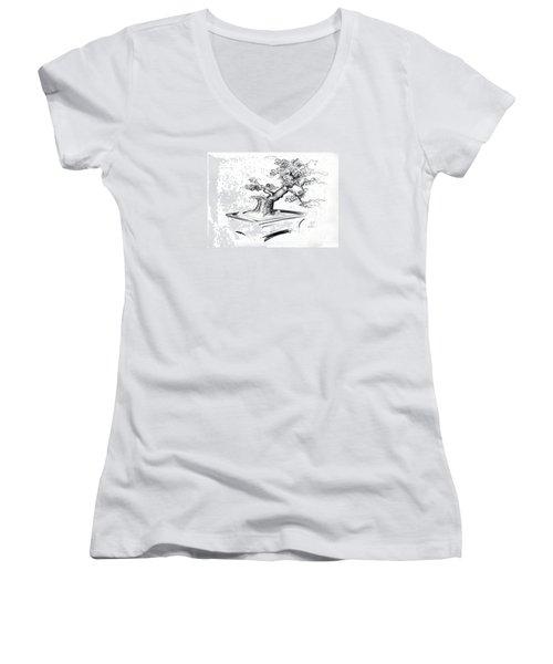 Bonsai  Women's V-Neck