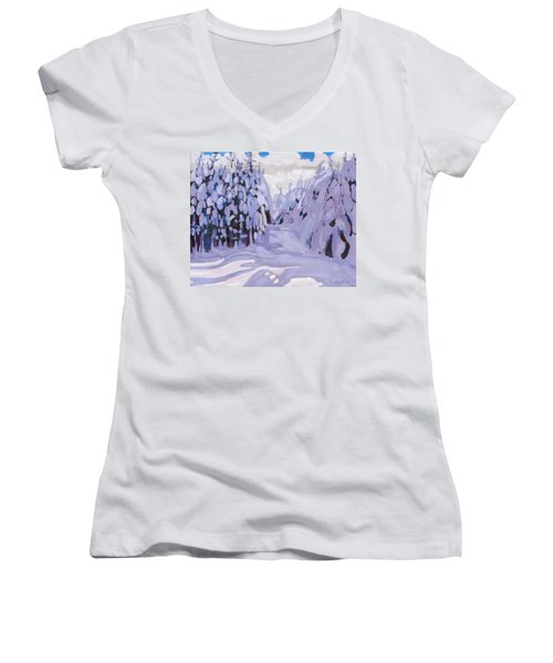 Boughs Before The Wind Women's V-Neck