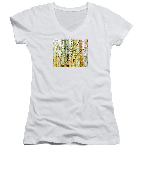 Branches Women's V-Neck