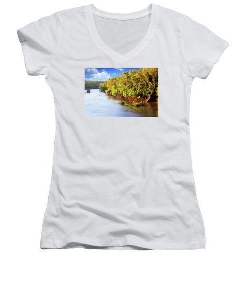 Brazos River Women's V-Neck (Athletic Fit)
