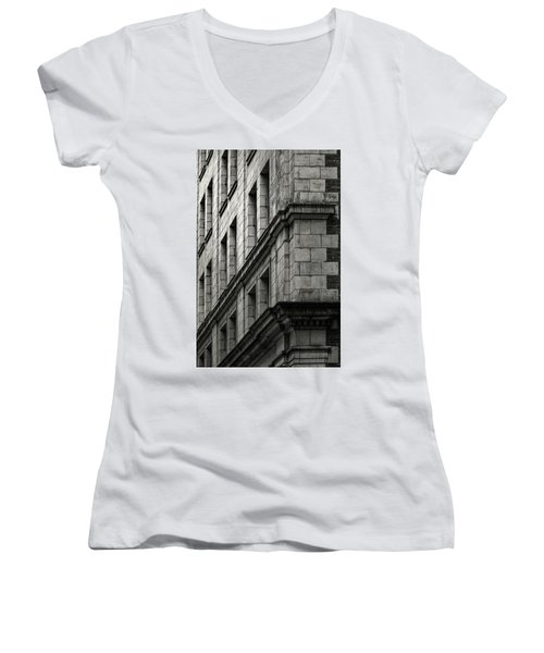 Bricks And Beauty Women's V-Neck T-Shirt