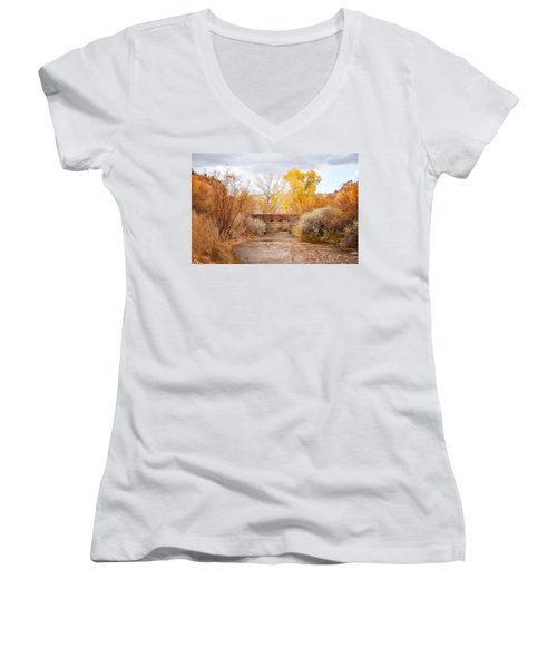 Bridge In Teasdale Women's V-Neck