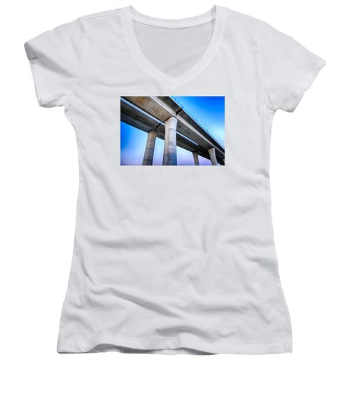 Bridge To The Heaven Women's V-Neck