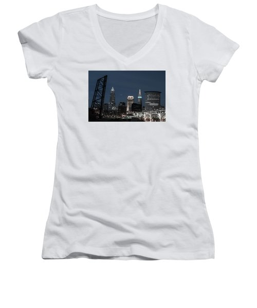 Bridges And Buildings Women's V-Neck