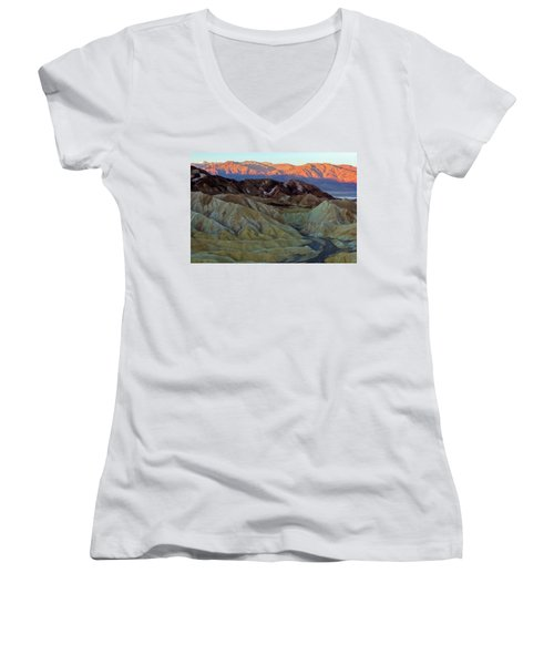 Brilliant And Subdued Women's V-Neck