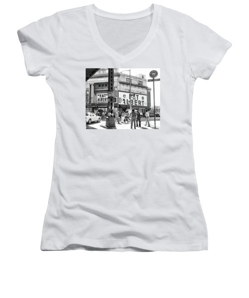Brooklyn Fat Albert  Women's V-Neck