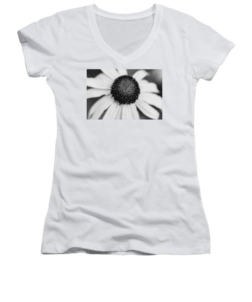 Brown Eyed Susan Women's V-Neck (Athletic Fit)