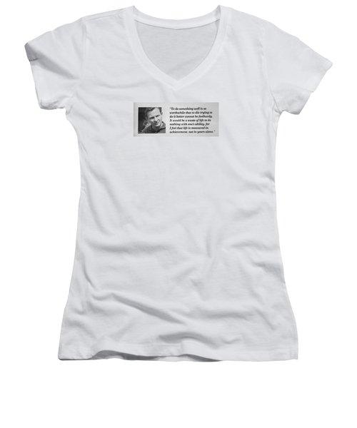 Bruce Mclaren Women's V-Neck T-Shirt