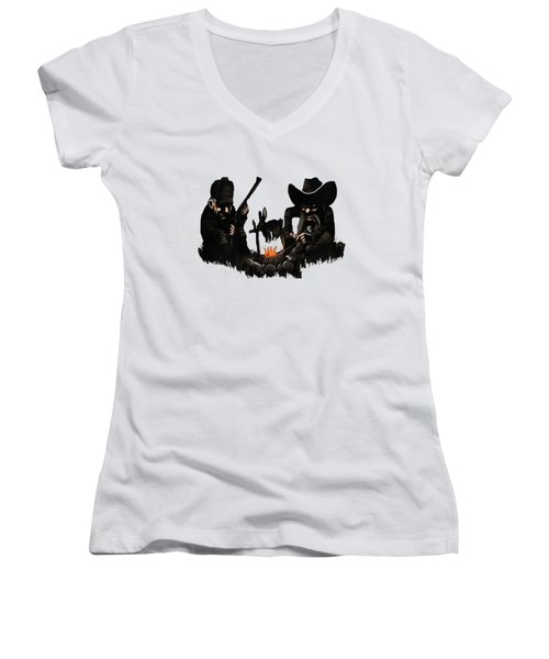Bugs Bunny Women's V-Neck (Athletic Fit)
