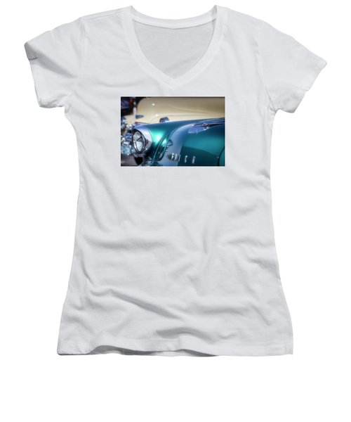 Buick Dreams Women's V-Neck (Athletic Fit)