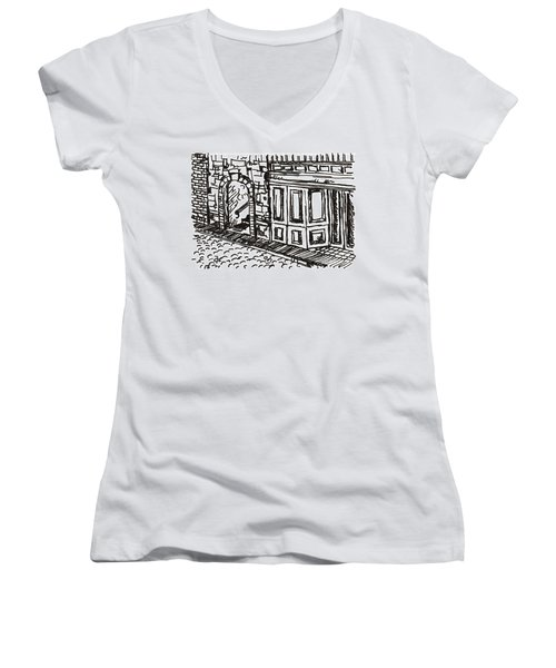 Buildings 2 2015 - Aceo Women's V-Neck