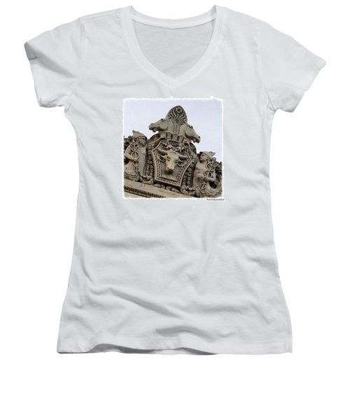 Built In 1932 As A #veterinary Women's V-Neck