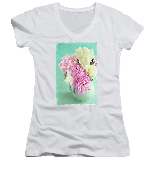 Burst Of Spring Women's V-Neck