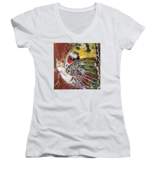 Butterfly Artbox Project 1 Basel Women's V-Neck T-Shirt