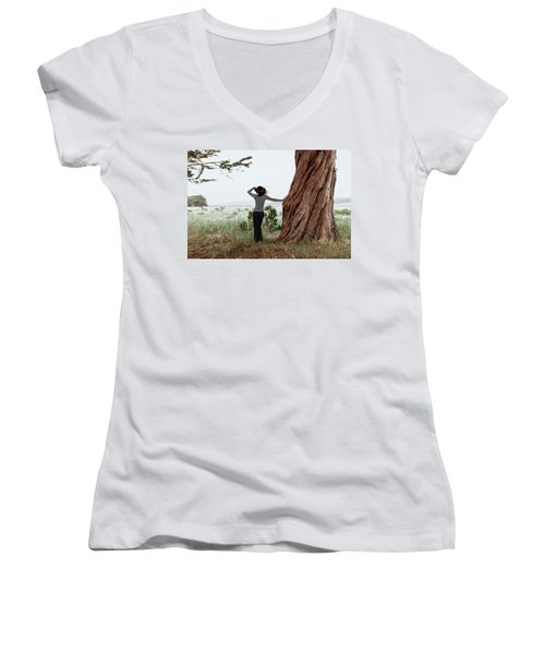By The Cypress Women's V-Neck