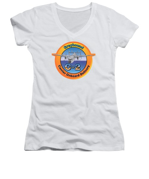C-2 Greyhound Women's V-Neck (Athletic Fit)