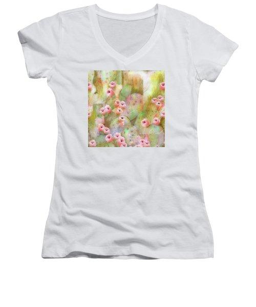 Cactus Rose Women's V-Neck