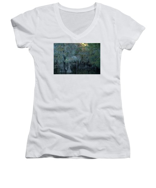 Caddo Lake #2 Women's V-Neck