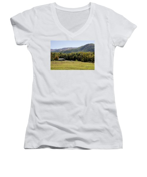 Cades Place Women's V-Neck T-Shirt