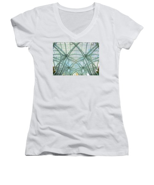 Calatrava In Toronto 10 Women's V-Neck T-Shirt