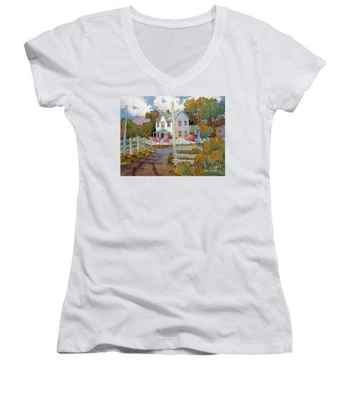 Cambria Farm Women's V-Neck T-Shirt