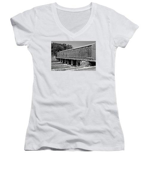 Canal Headgates Women's V-Neck T-Shirt
