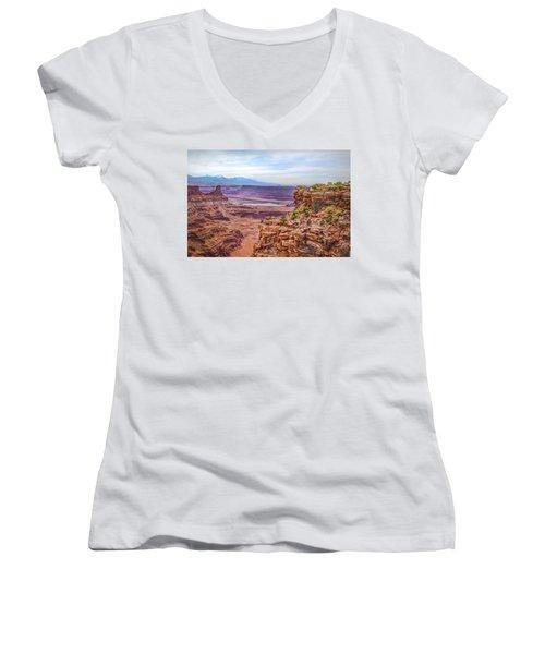 Canyon Landscape Women's V-Neck