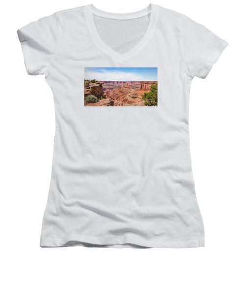 Canyonlands Near Moab Women's V-Neck