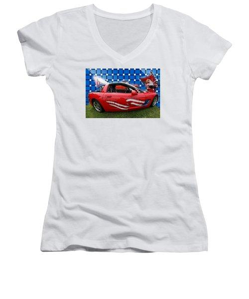 Carmerica II Women's V-Neck T-Shirt