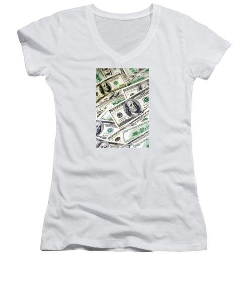 Cash Money Women's V-Neck