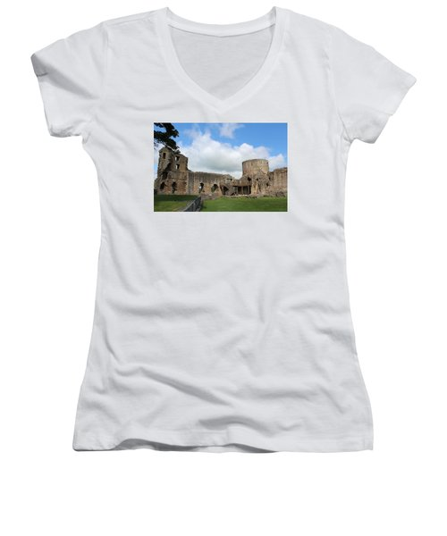 Castle Ruins Women's V-Neck