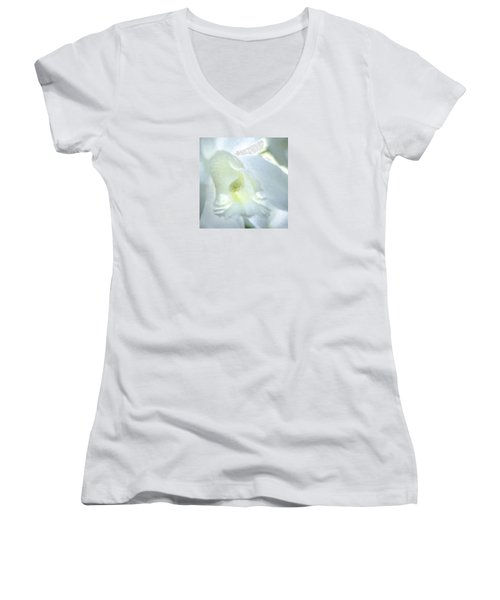 Cattleya Orchid #3 Women's V-Neck T-Shirt