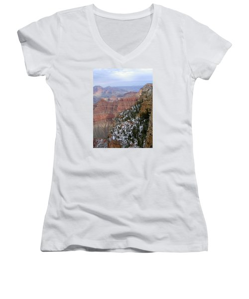 Cedar Ridge Grand Canyon Women's V-Neck (Athletic Fit)
