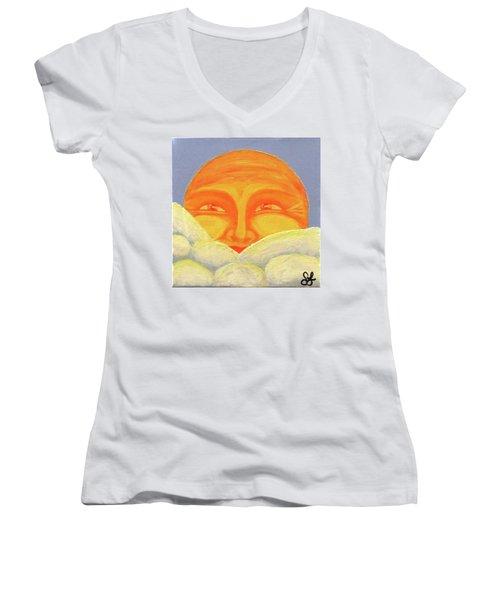 Celestial 2016 #2 Women's V-Neck T-Shirt