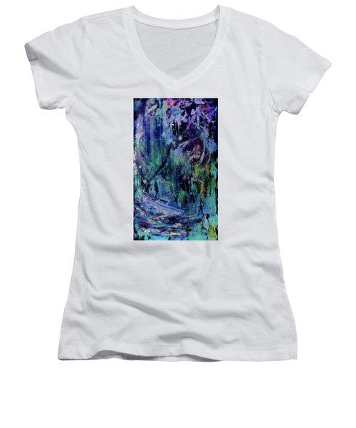Celestial Storm Women's V-Neck T-Shirt