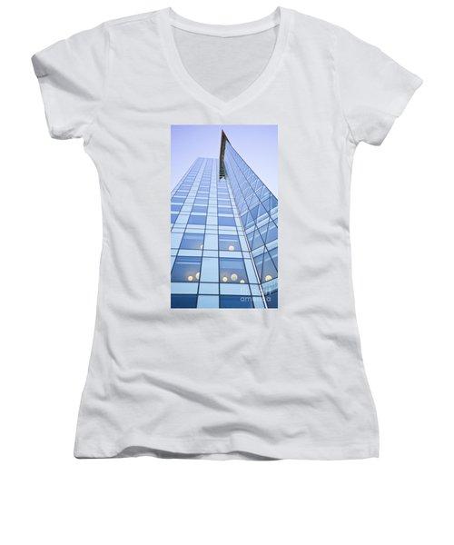 Central City Women's V-Neck T-Shirt