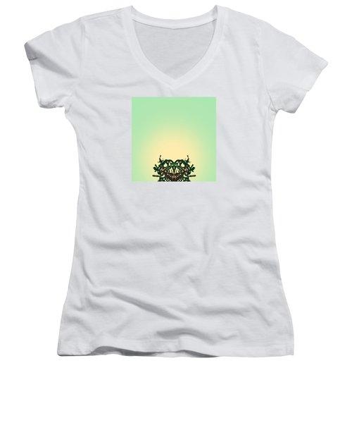 Cerebral Women's V-Neck T-Shirt