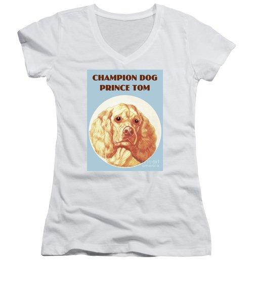 Champion Dog Prince Tom Women's V-Neck