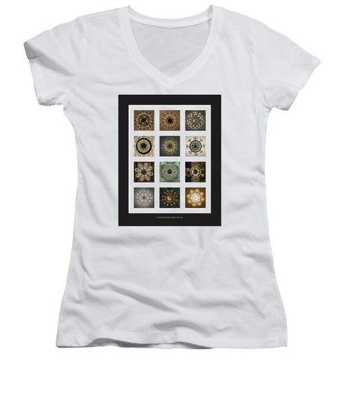 Collection Poster Chandeliers From Russia Women's V-Neck