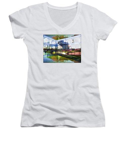 Chaplin Ihn Strassburg Women's V-Neck T-Shirt