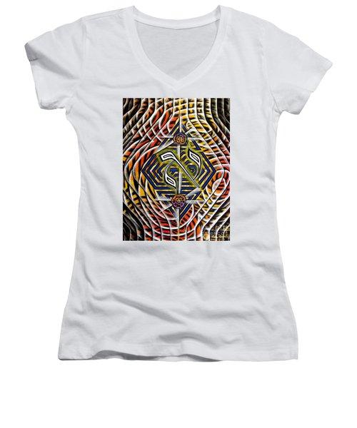 Chasmal The Speaking Silence Women's V-Neck T-Shirt