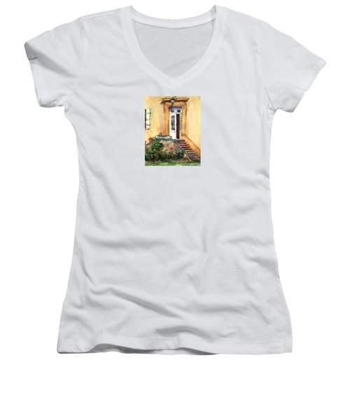 Chateau Le Pinacle Women's V-Neck T-Shirt